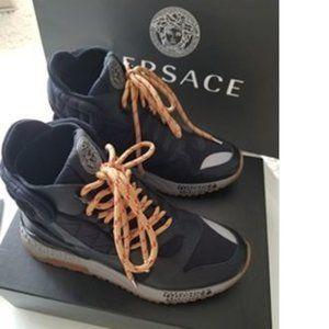 NEW Versace Men's High Top Sneakers